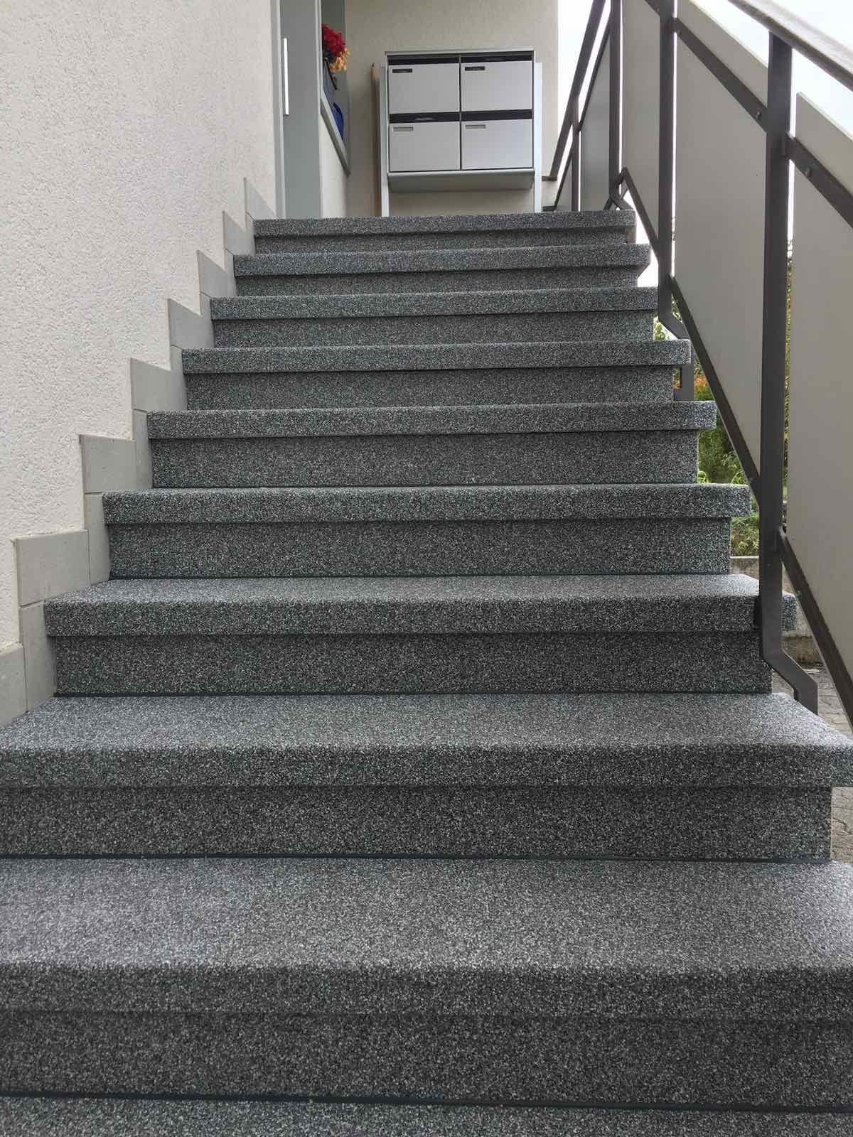 Privat Treppenbeschichtung: Rutschfest & sicher |WB-Tech